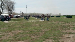 2014 Cornhusker Trapshoot.  Photo taken by Curt Mueting.